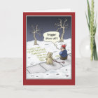 Funny Christmas Cards: Steady Flow