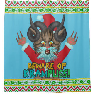 Funny Christmas Cat Humor Krampuss Holidays Pun
