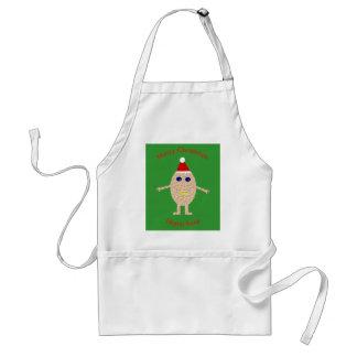 Funny Christmas Egg Cooking Apron