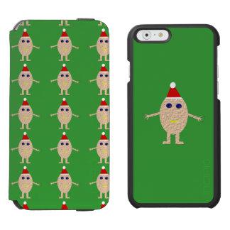 Funny Christmas Egg iPhone Case Incipio Watson™ iPhone 6 Wallet Case