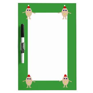 Funny Christmas Egg Memo Board