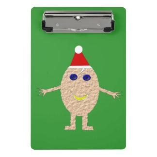 Funny Christmas Egg Mini Clipboard