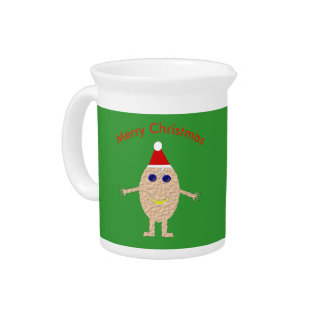 Funny Christmas Egg Pitcher