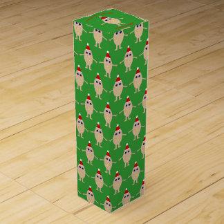 Funny Christmas Egg Wine Gift Box