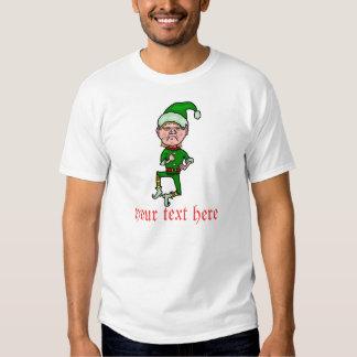 Funny Christmas Elf T-shirts