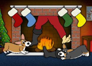 Cartoon Fireplace Invitations & Stationery | Zazzle CA