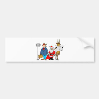 Funny Christmas Gifts Bumper Sticker