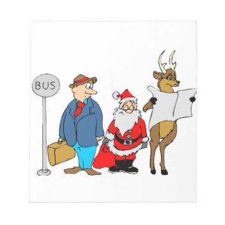 Funny Christmas Gifts Notepad