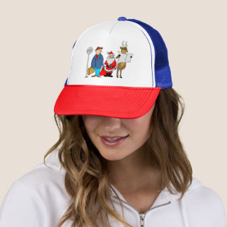 Funny Christmas Gifts Trucker Hat