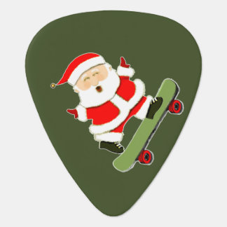 Funny Christmas Guitar Pick