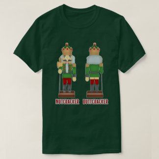 Funny Christmas Nutcracker Buttcracker Humorous T-Shirt