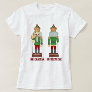 Funny Christmas Nutcracker Buttcracker Humorous T-Shirt