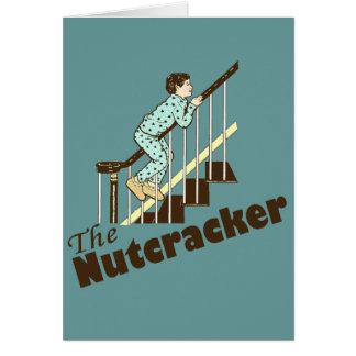 Funny Christmas Nutcracker Greeting Card
