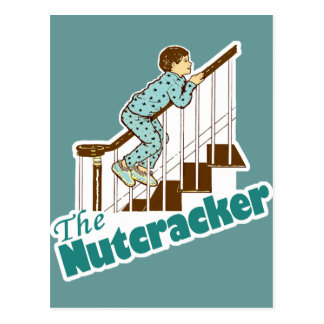 Funny Christmas Nutcracker Postcard