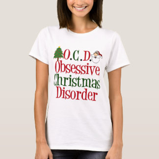 Funny Christmas Obsession Cute T-Shirt