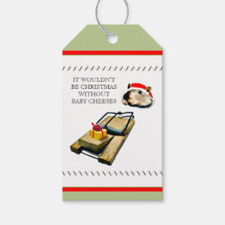 Funny Christmas Pack Of Gift Tags
