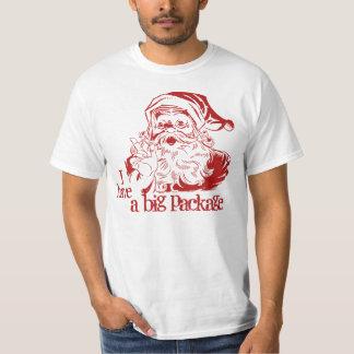 Funny Christmas Santa Claus T-Shirt