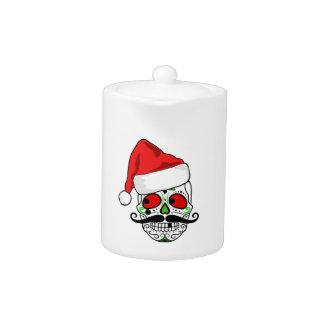 Funny Christmas Sugar Skull