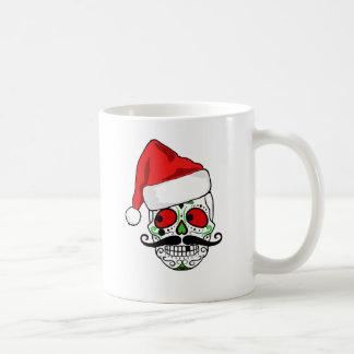 Funny Christmas Sugar Skull Coffee Mug