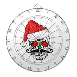 Funny Christmas Sugar Skull Dartboard