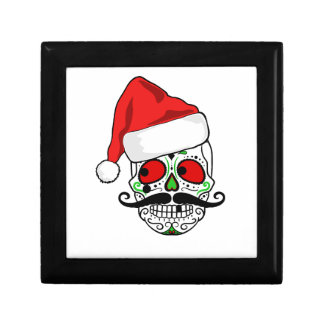 Funny Christmas Sugar Skull Gift Box