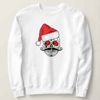 Funny Christmas Sugar Skull Sweatshirt