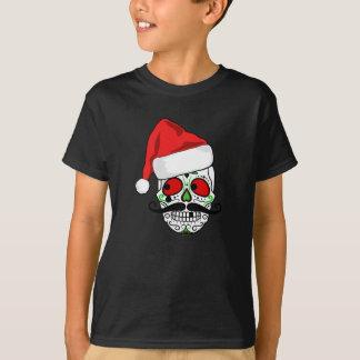 Funny Christmas Sugar Skull T-Shirt