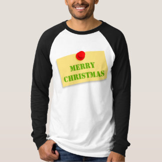 Funny Christmas T-Shirt, Men's Long Sleeved Shirt
