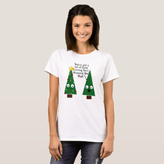 Funny Christmas Tacky Women's Tshirt