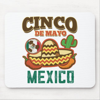 Funny Cinco De Mayo Mexican Mouse Pad