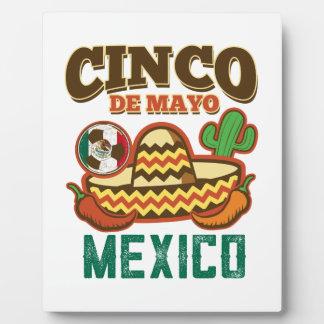 Funny Cinco De Mayo Mexican Plaque
