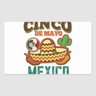 Funny Cinco De Mayo Mexican Sticker