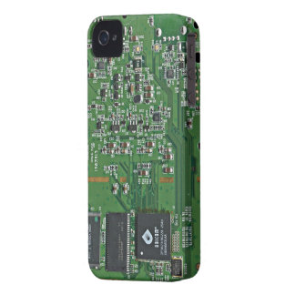 Funny circuit board iPhone 4 cover