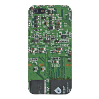 Funny circuit board iPhone 5/5S cover