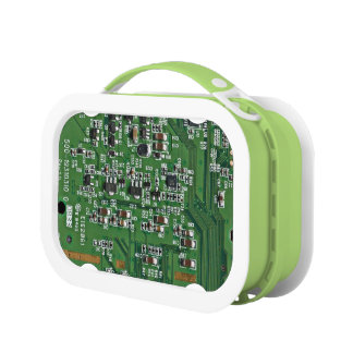 Funny circuit board lunchboxes