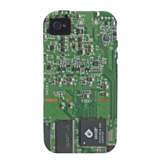 Funny circuit board vibe iPhone 4 cover