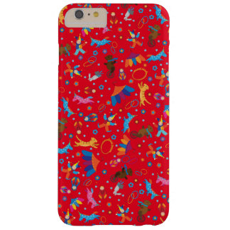 Funny circus cartoon cute animals pattern barely there iPhone 6 plus case