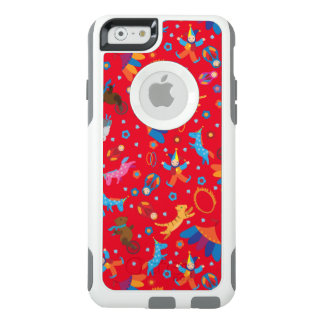 Funny circus cartoon cute animals pattern OtterBox iPhone 6/6s case