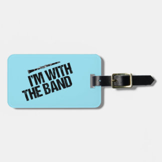 Funny Clarinet Custom Band Luggage Tag