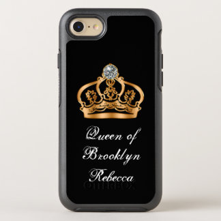 Funny Classy Royal Queen OtterBox Symmetry iPhone 7 Case