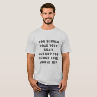 Funny Clever Quote T-Shirt