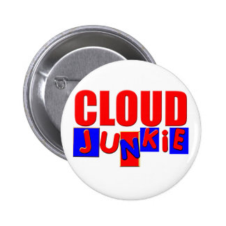 Funny Cloud 2 Inch Round Button