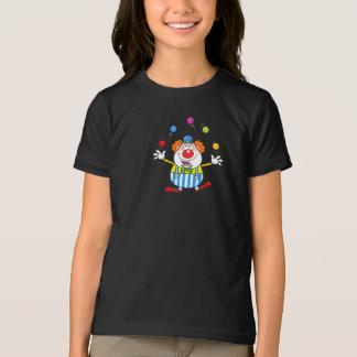Funny Clown Juggling Girls T-Shirt