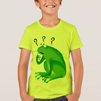 Funny Clueless Green Frog T-Shirt
