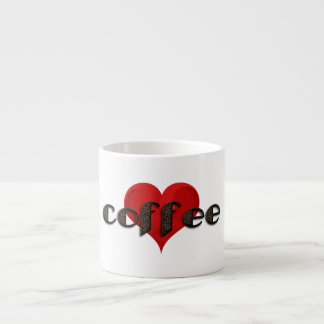Funny Coffee Beans Heart Love Typography Espresso