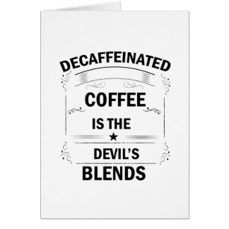 funny coffee drink card
