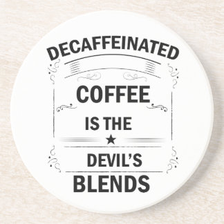 funny coffee drink coaster