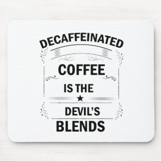 funny coffee drink mouse pad