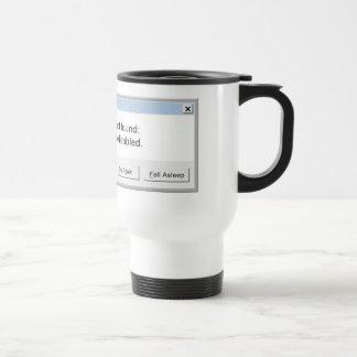 Funny Coffee Error Message - Mug