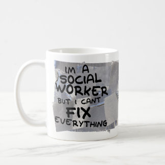 Funny Coffee Mug Gift - Social Worker Fix